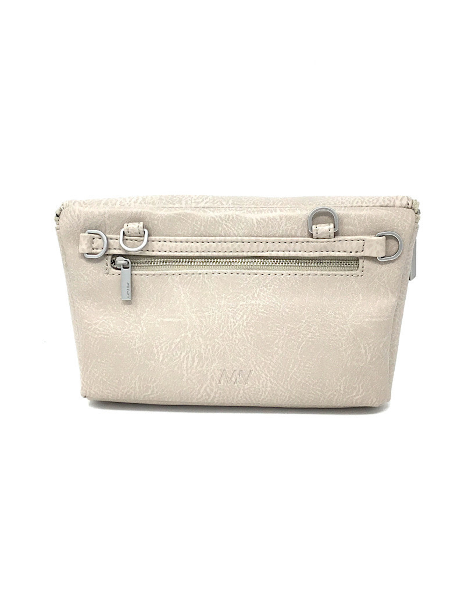 Matt & Nat Belt bag Koala Matte Nickel