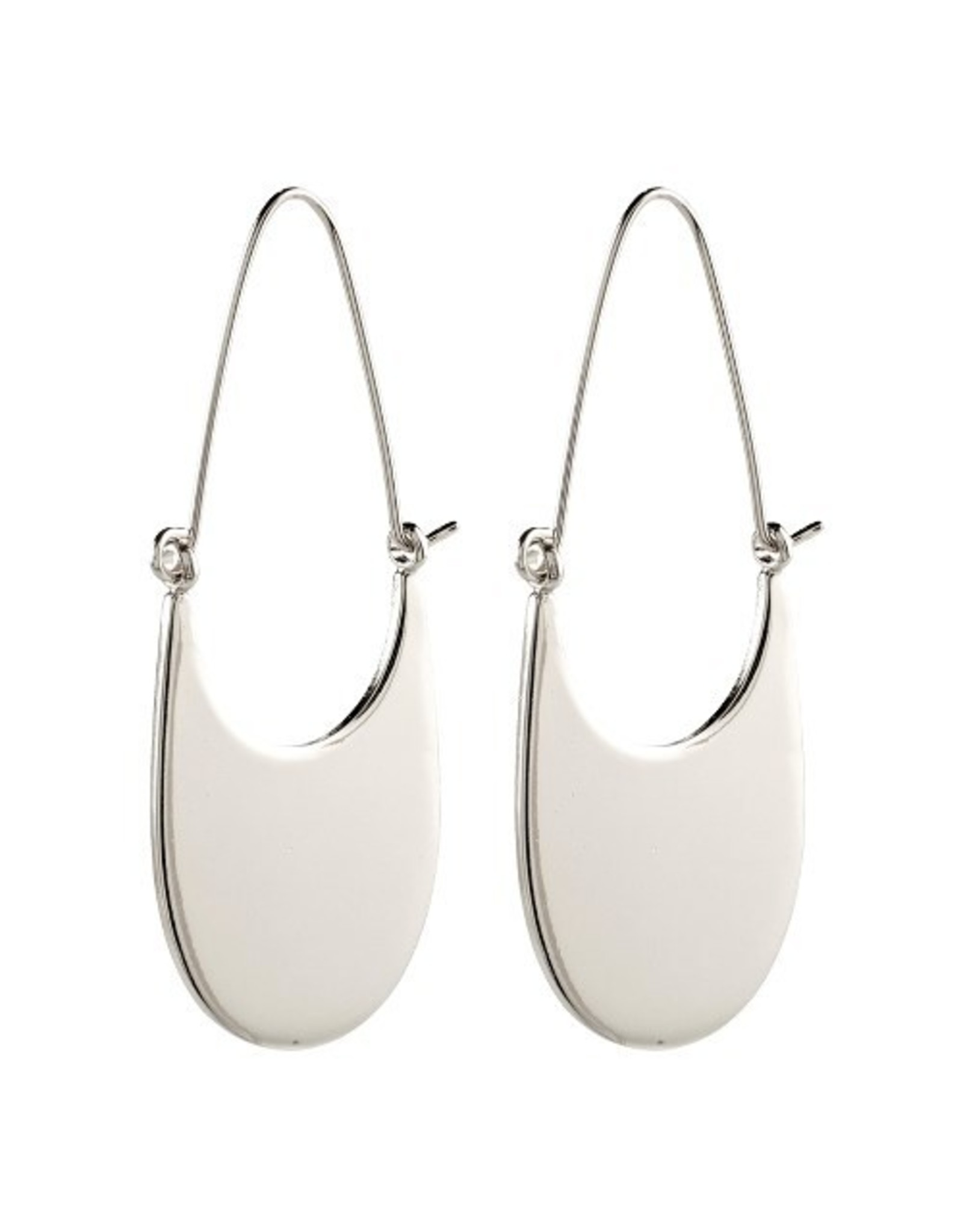 Pilgrim Pilgrim Earrings Everly Silver