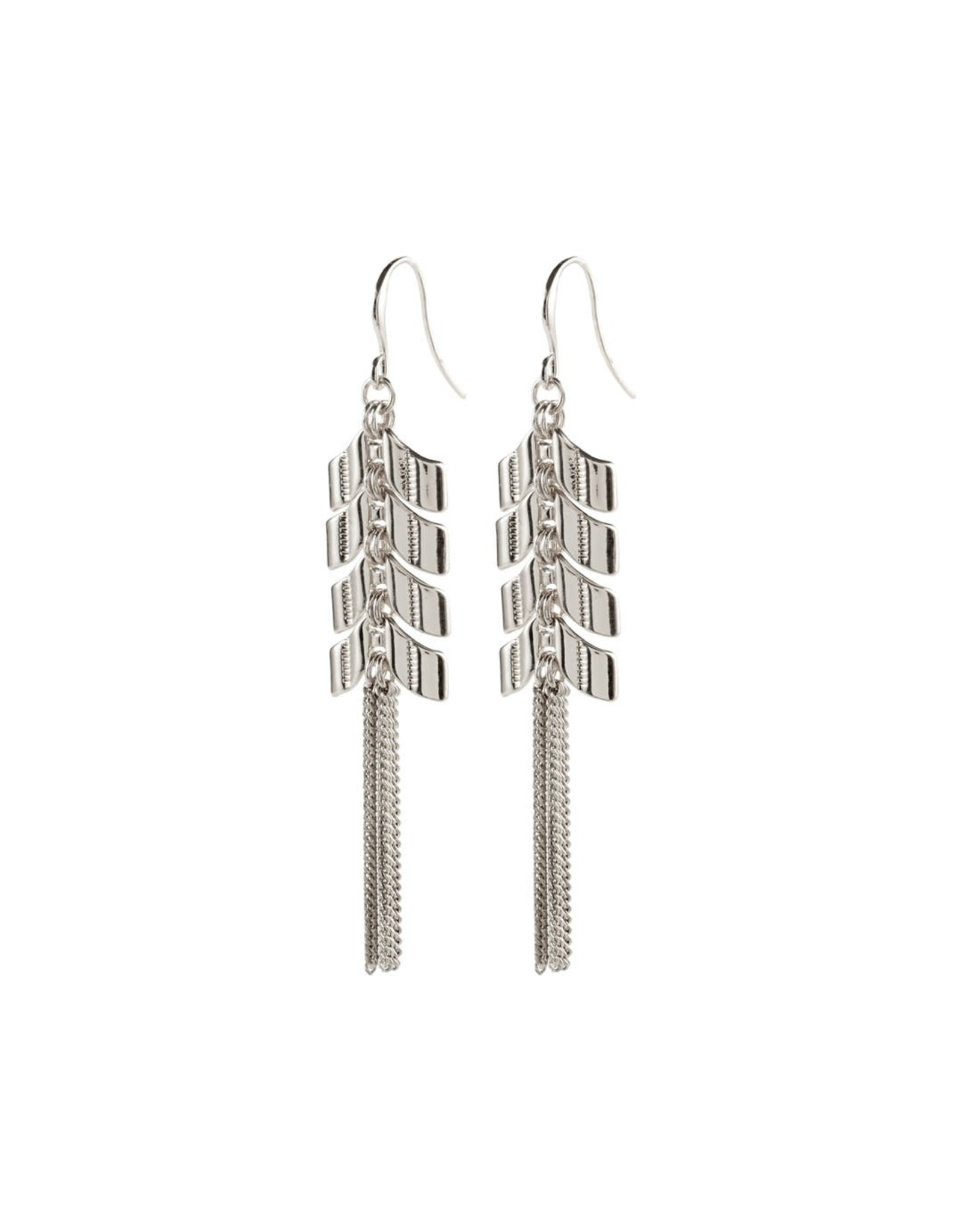 Pilgrim Pilgrim Earrings Karla silver