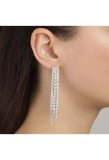Pilgrim Pilgrim Earrings Rachel Silver