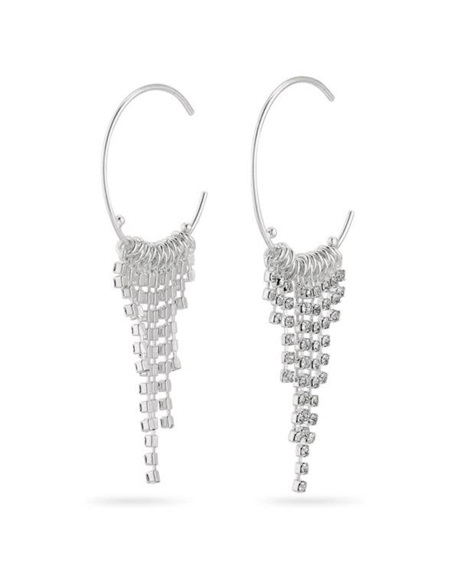 Pilgrim Pilgrim Earrings Urd Silver