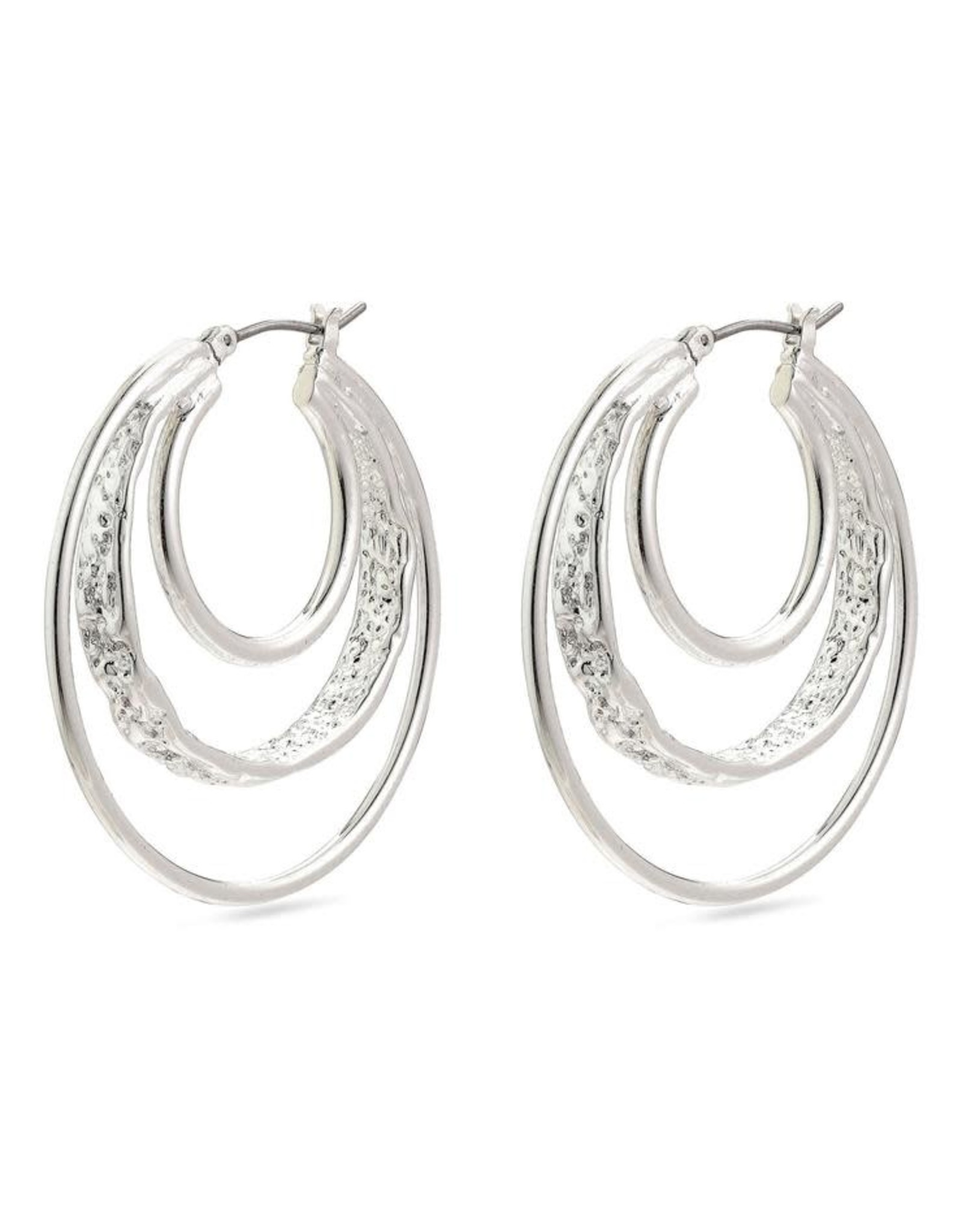 Pilgrim Pilgrim Earrings Valkyria Silver