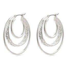 Pilgrim Pilgrim Earrings Valkyria Silver
