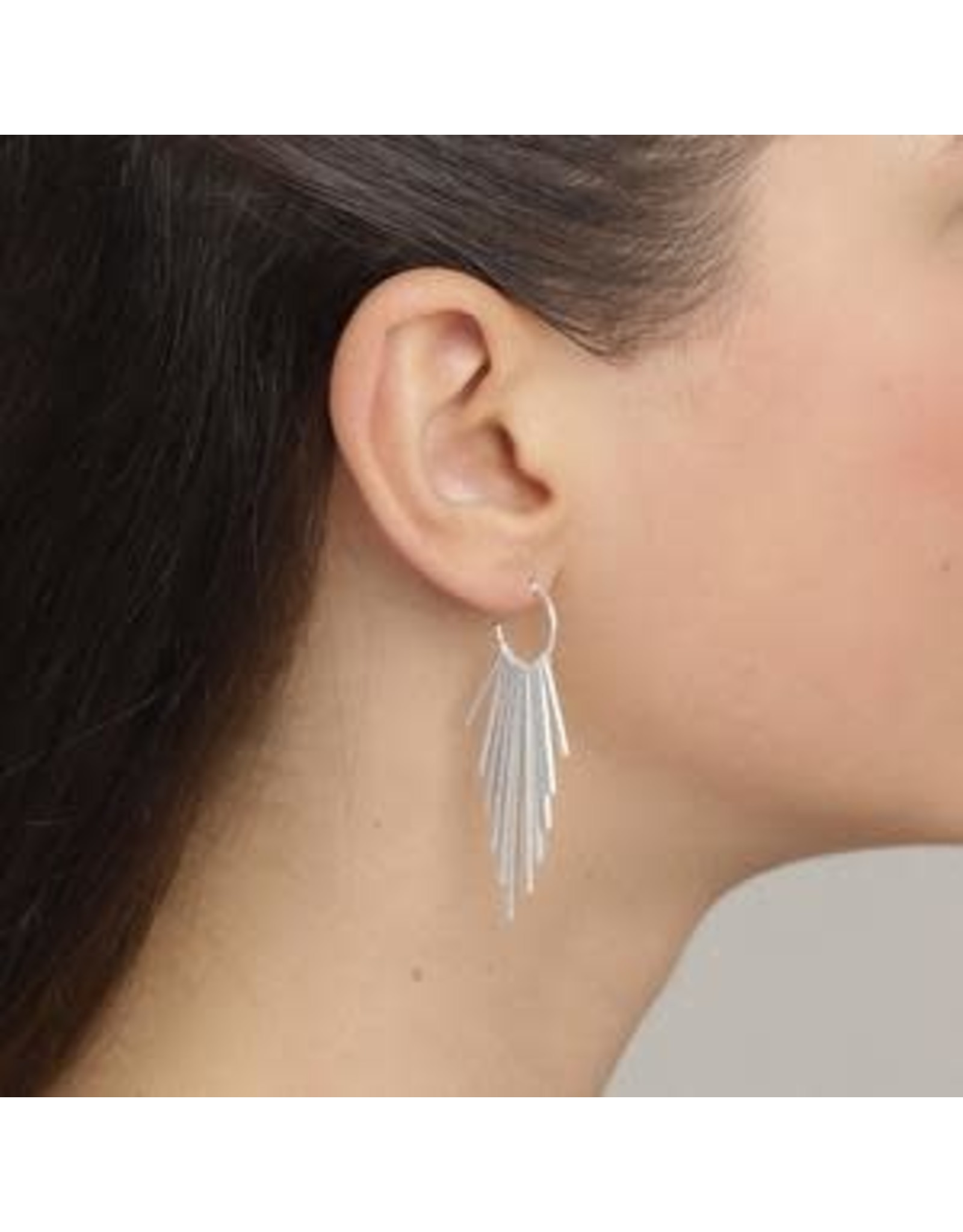 Pilgrim Pilgrim Earrings Verdandi silver
