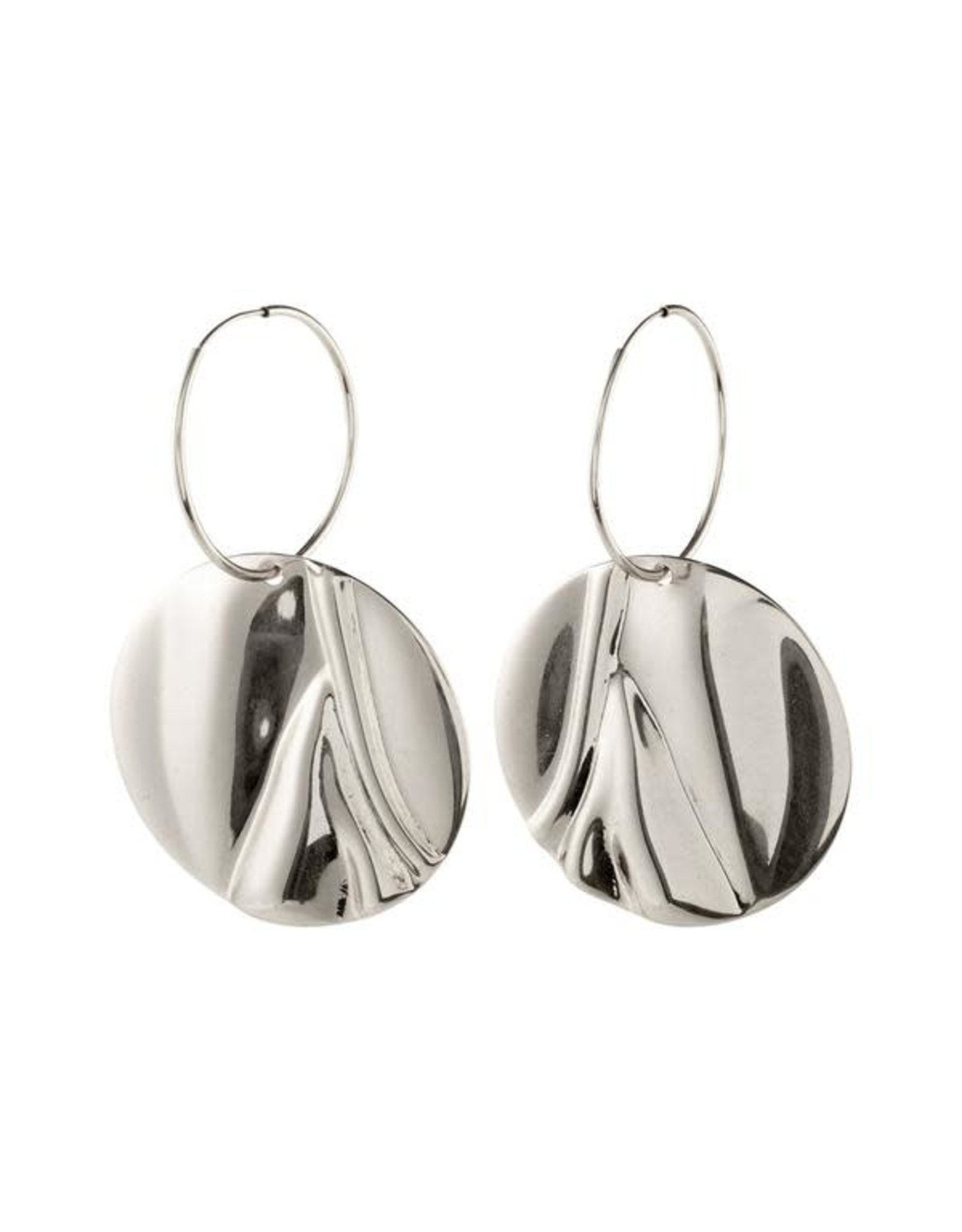 Pilgrim Pilgrim Earrings Water Silver