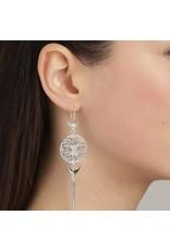 Pilgrim Pilgrim Earrings Yggdrasil Silver