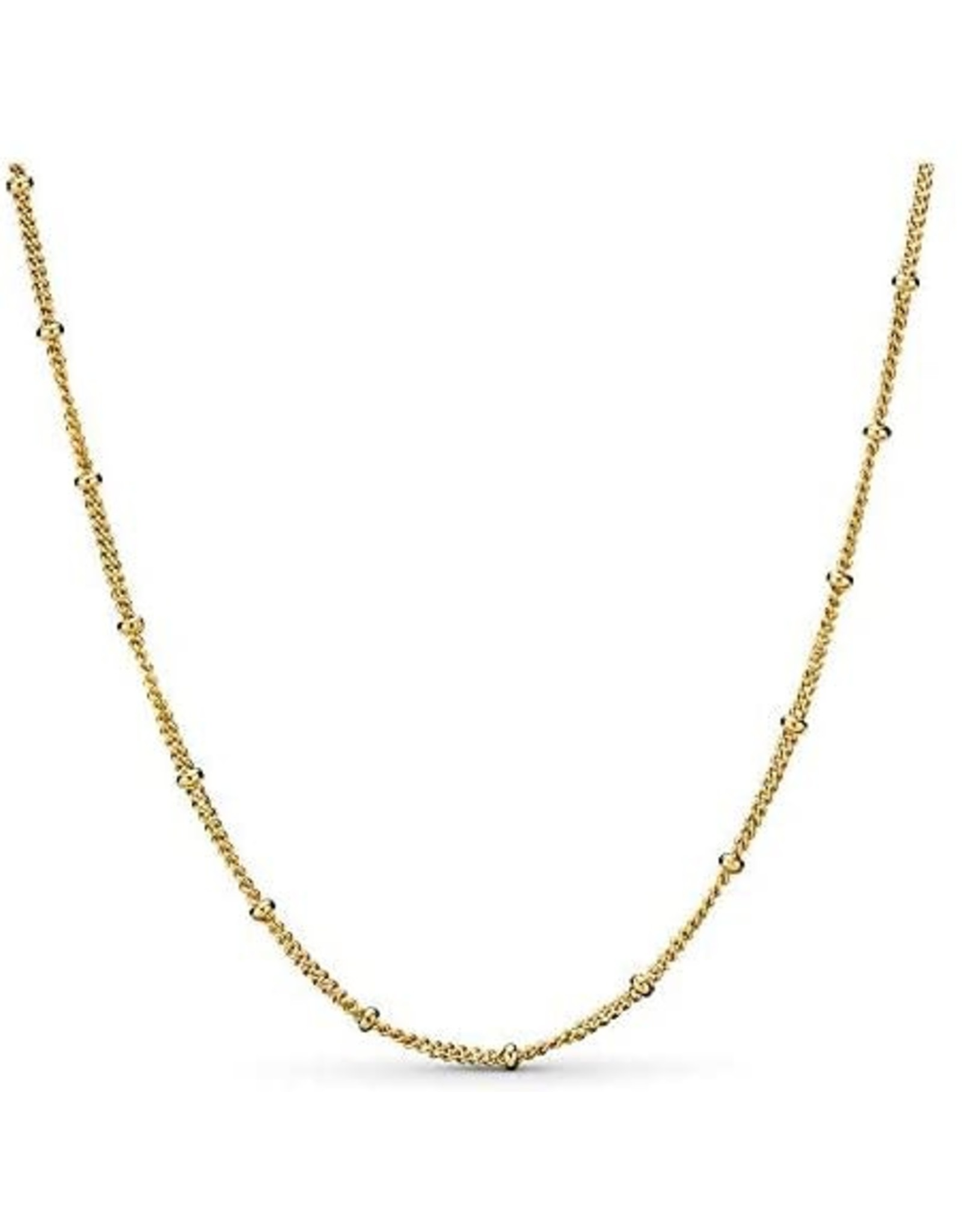 Pandora Pandora Beaded Necklace In Pandora Shine 70 cm, Adjustable To 65 cm and 60 cm 70 cm