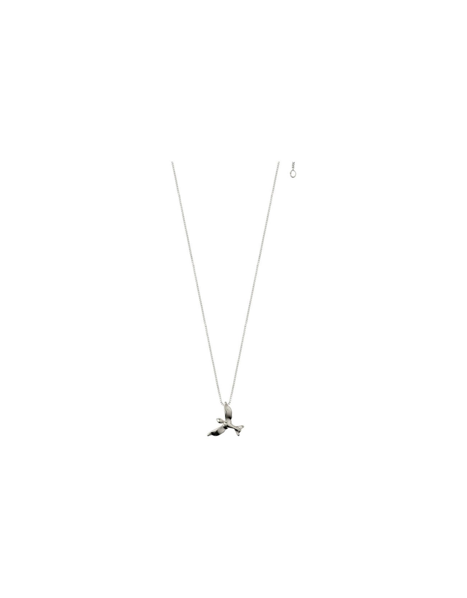 Pilgrim Pilgrim Necklace Air Bird Silver