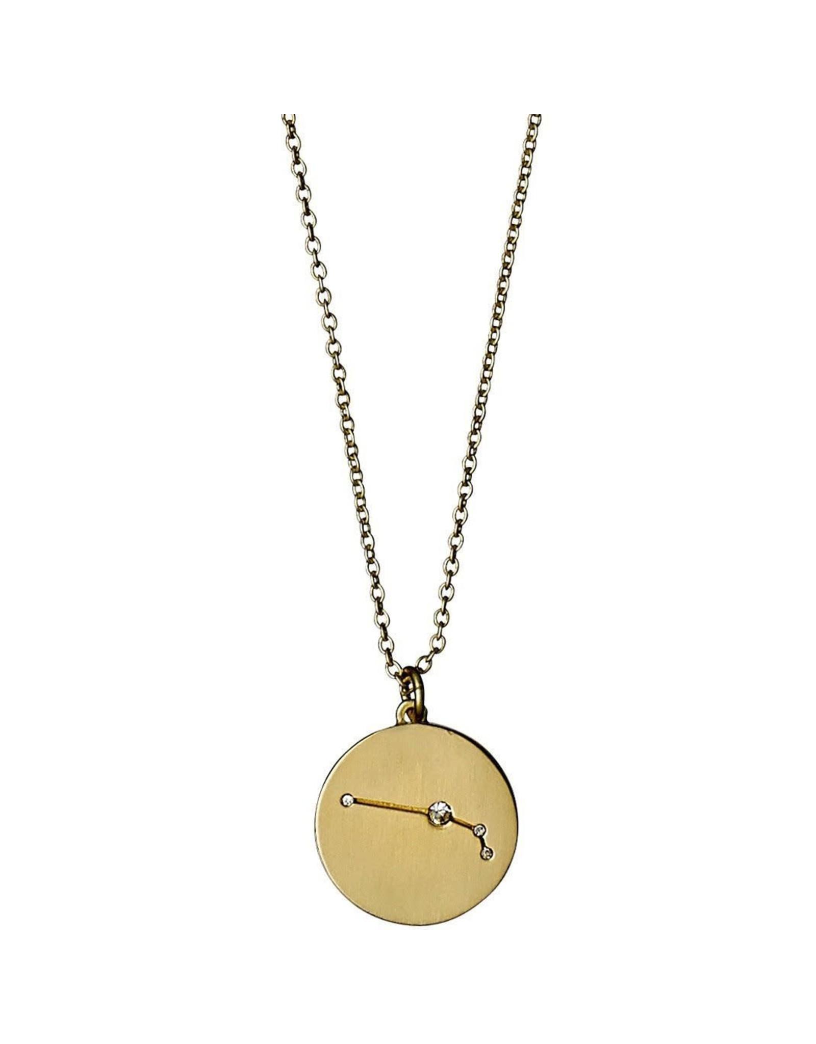 Pilgrim Pilgrim Necklace Aries Gold