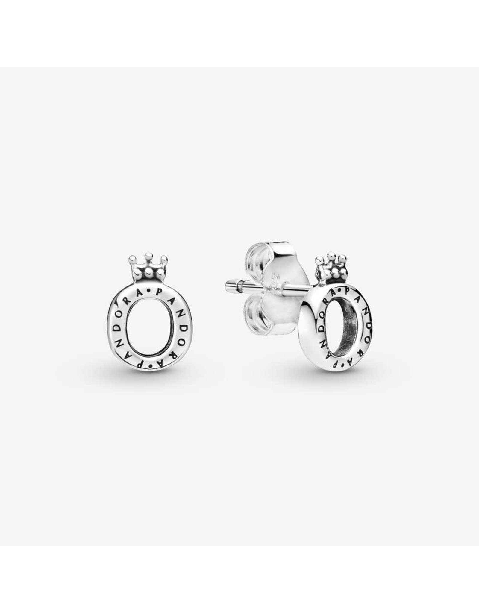 Pandora Pandora Earrings, 298295,Crown O