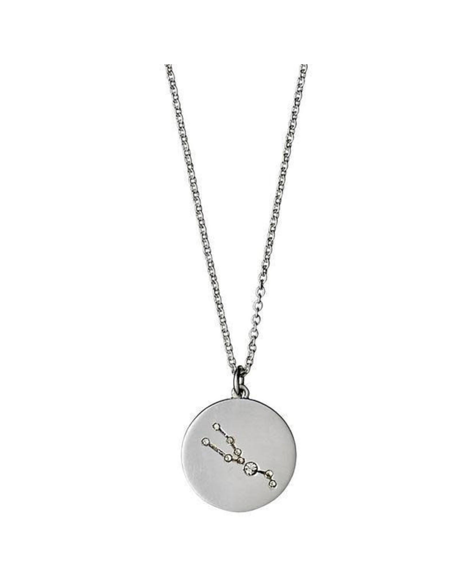 Pilgrim Pilgrim Necklace Taurus Silver