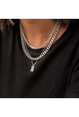 Pilgrim Pilgrim Necklace Water Silver Set