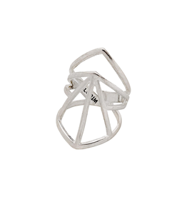 Pilgrim Pilgrim Ring Adjustable Silver