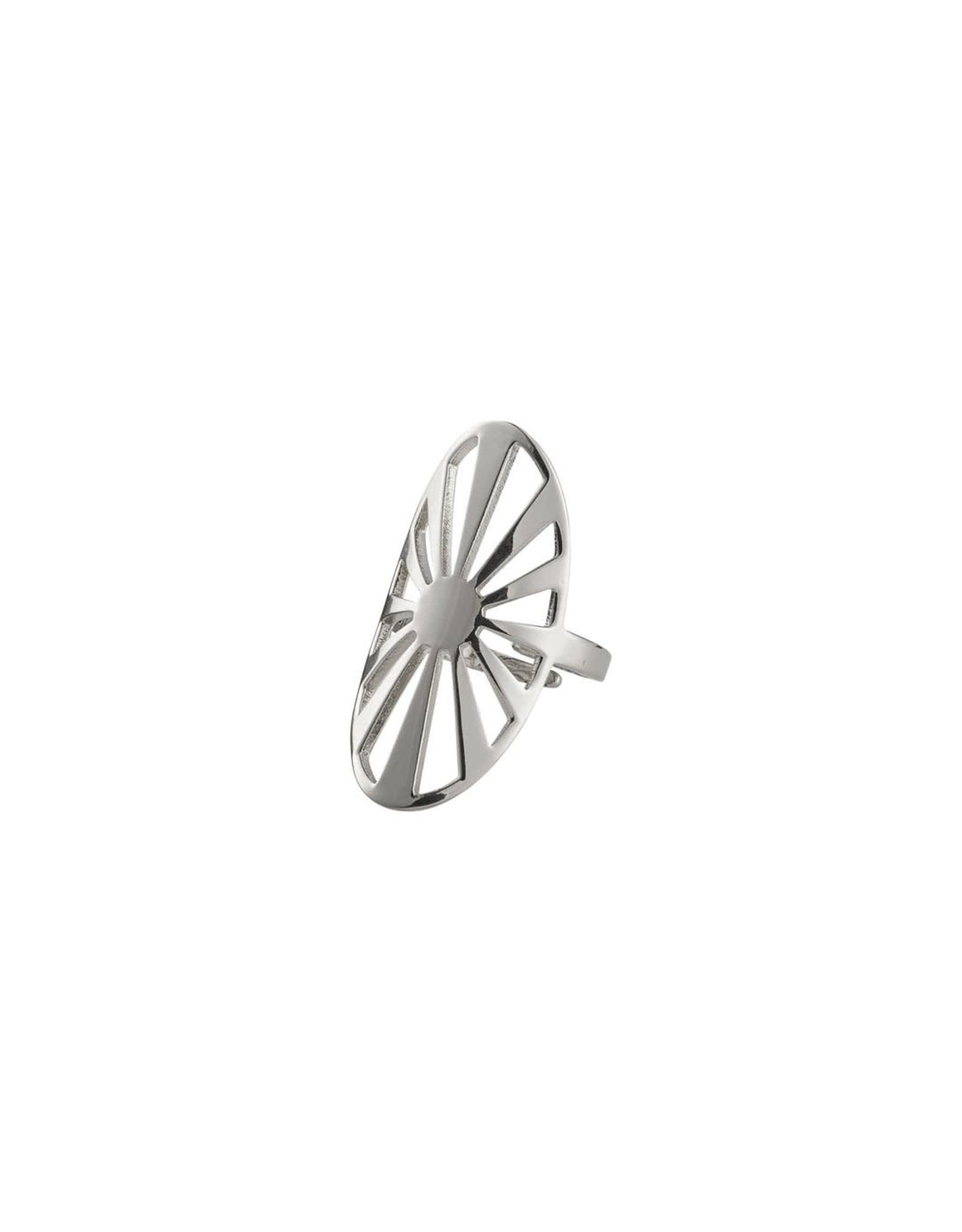 Pilgrim Pilgrim Ring Fire Silver