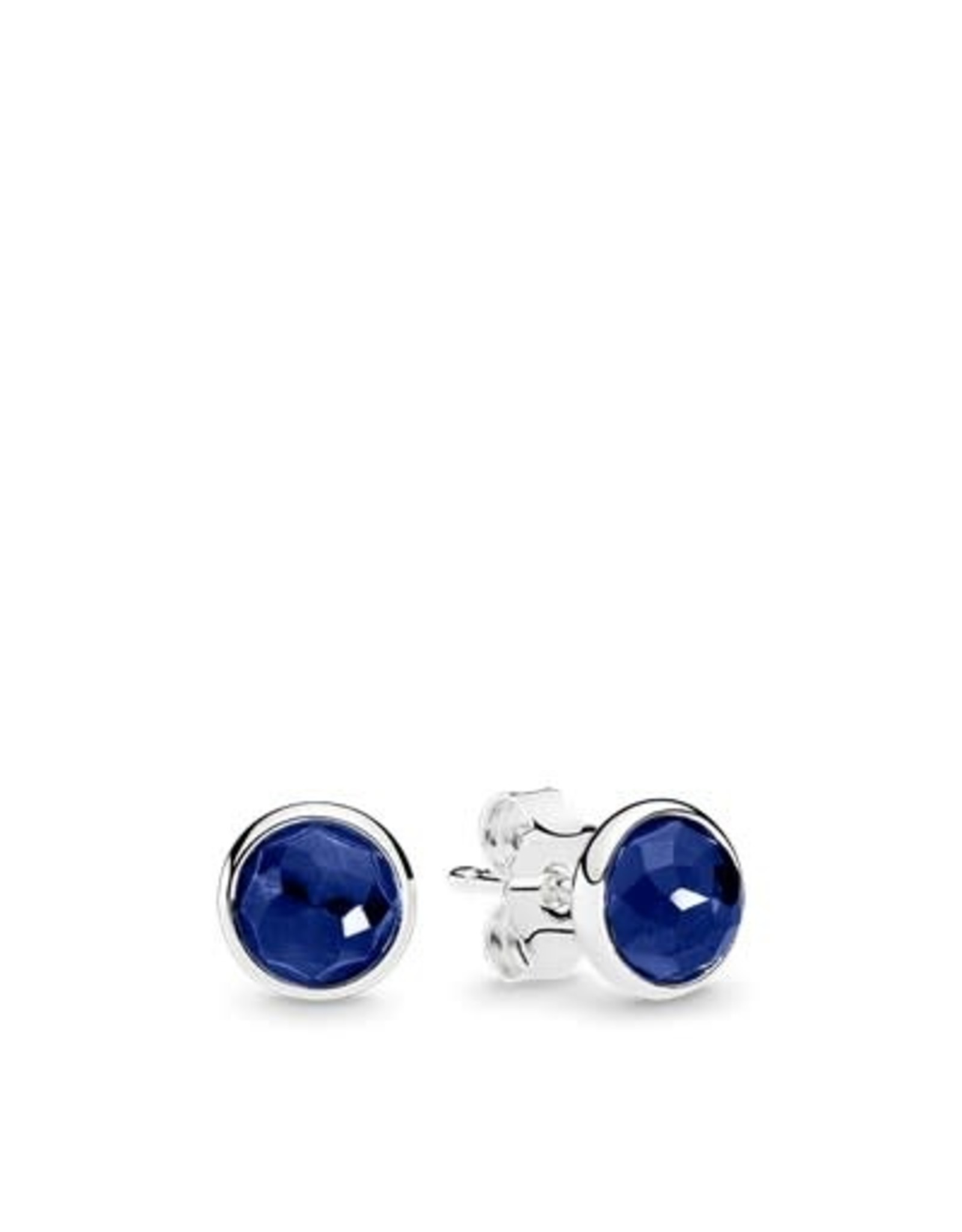 Pandora Pandora Earring Studs September Droplets With Synthetic Sapphire