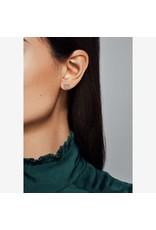 Pandora Pandora Earrings,297099CZ,Heart Stud