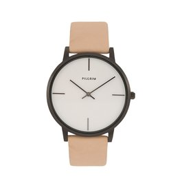 Pilgrim Pilgrim Watch Bailee Beige And Silver