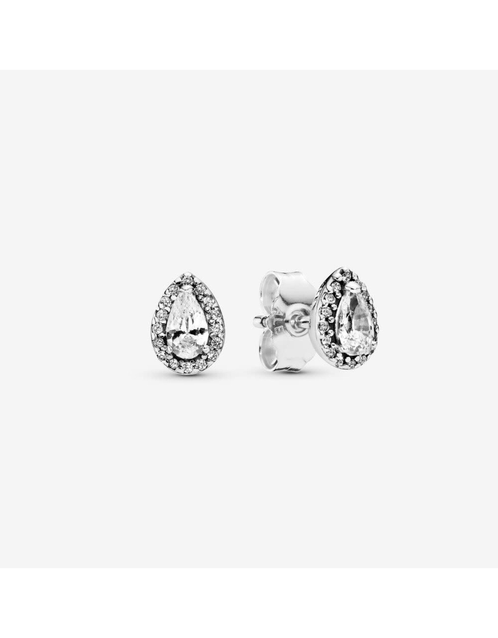 Pandora Pandora Stud Earrings (296252CZ) In Sterling Silver With Clear CZ