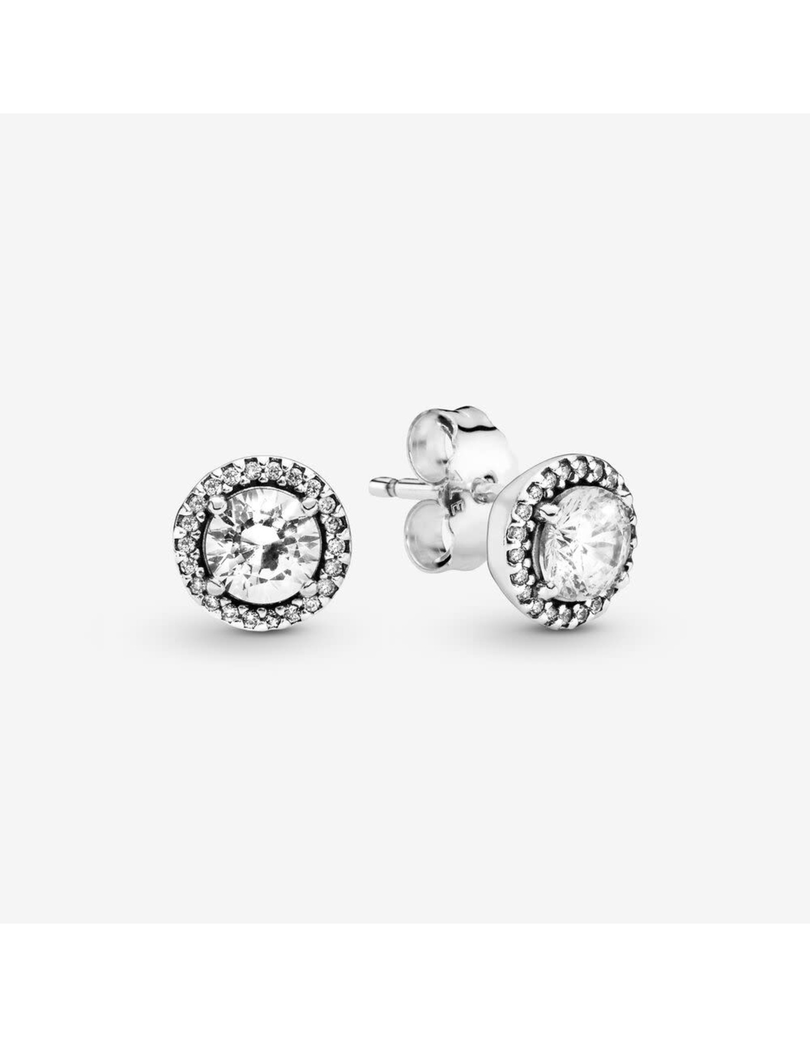 Pandora Pandora Stud Earrings ( 296272CZ)In Sterling Silver With Clear CZ