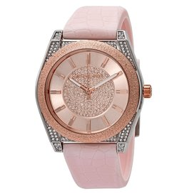 Michael Kors Watch Channing Stainless Steel Quartz With Rubber Pink