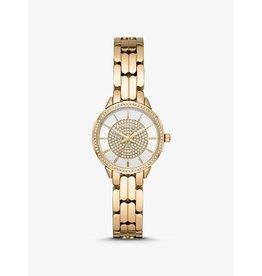 Michael Kors Watch Diamonds Small Gold