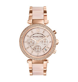 Michael Kors Watch Parker Chronograph Rose Gold