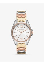 Michael Kors Watch Silver Gold Rose Gold