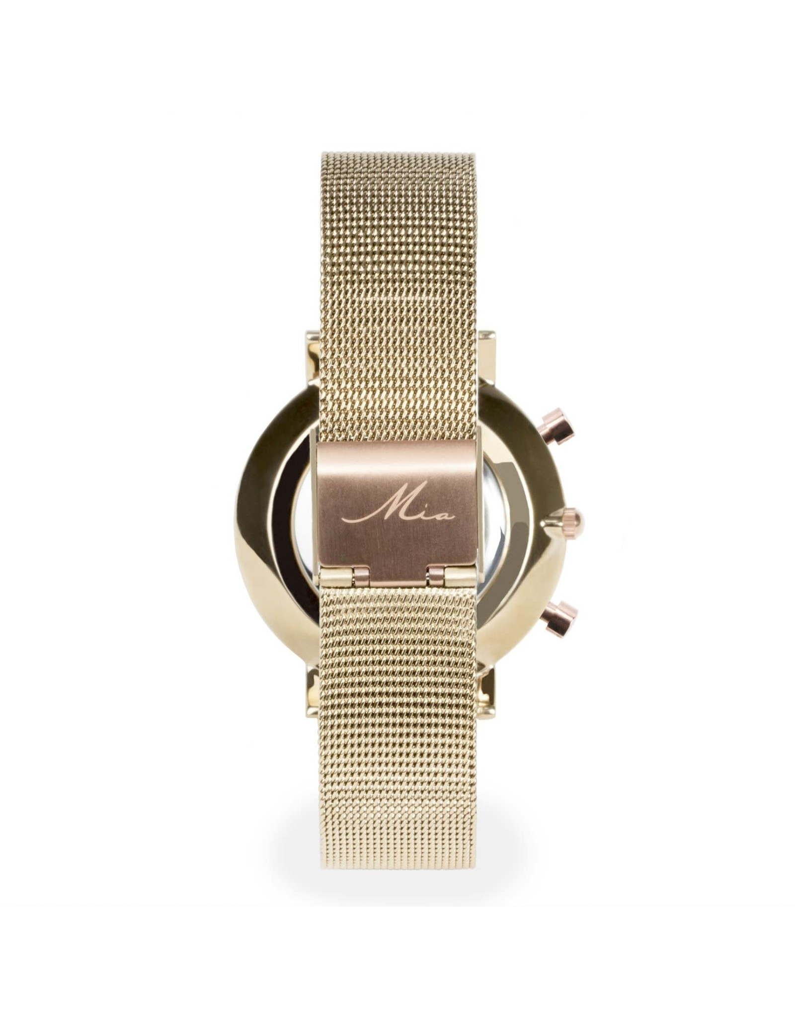Mia Watch Gold And Pale Pink
