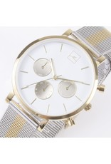Mia Watch Gold And Silver