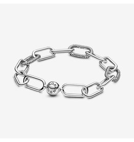 Pandora Pandora Me (598373) Link Snake Chain Pattern Sterling Silver