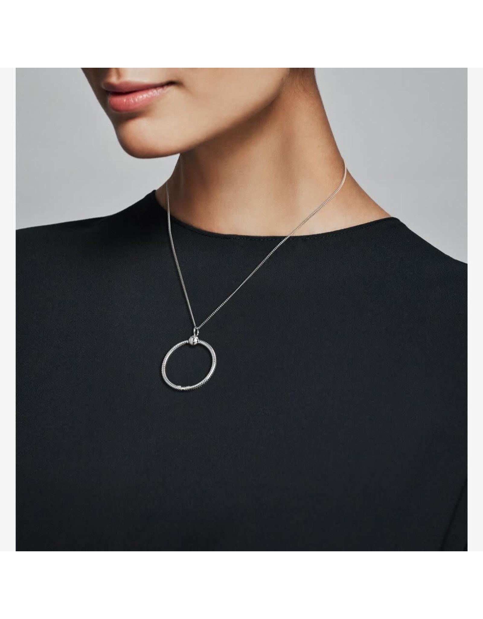 Pandora Pandora Medium Sterling Silver O Pendant