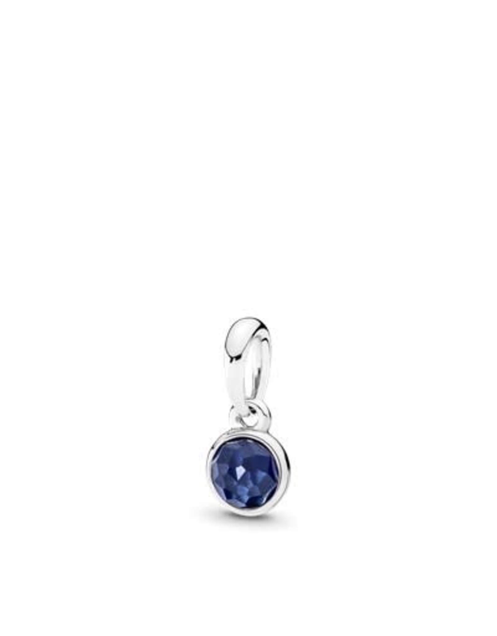 Pandora Pandora Pendant September Droplet With Synthetic Sapphire