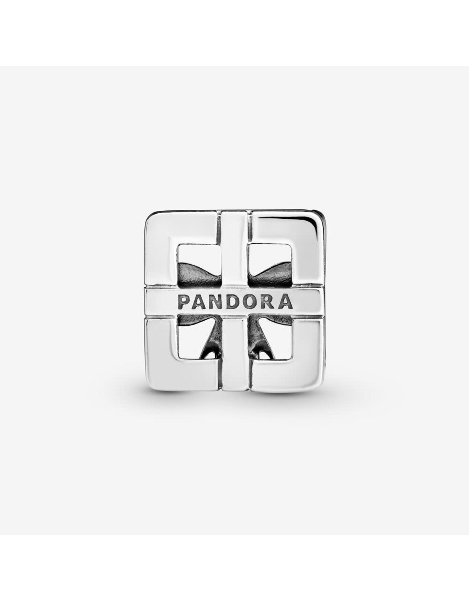 Pandora Pandora Reflexions Gift Clip Charm In Sterling Silver