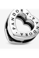 Pandora Pandora Reflexions Heart Sterling Silver Clip Charm