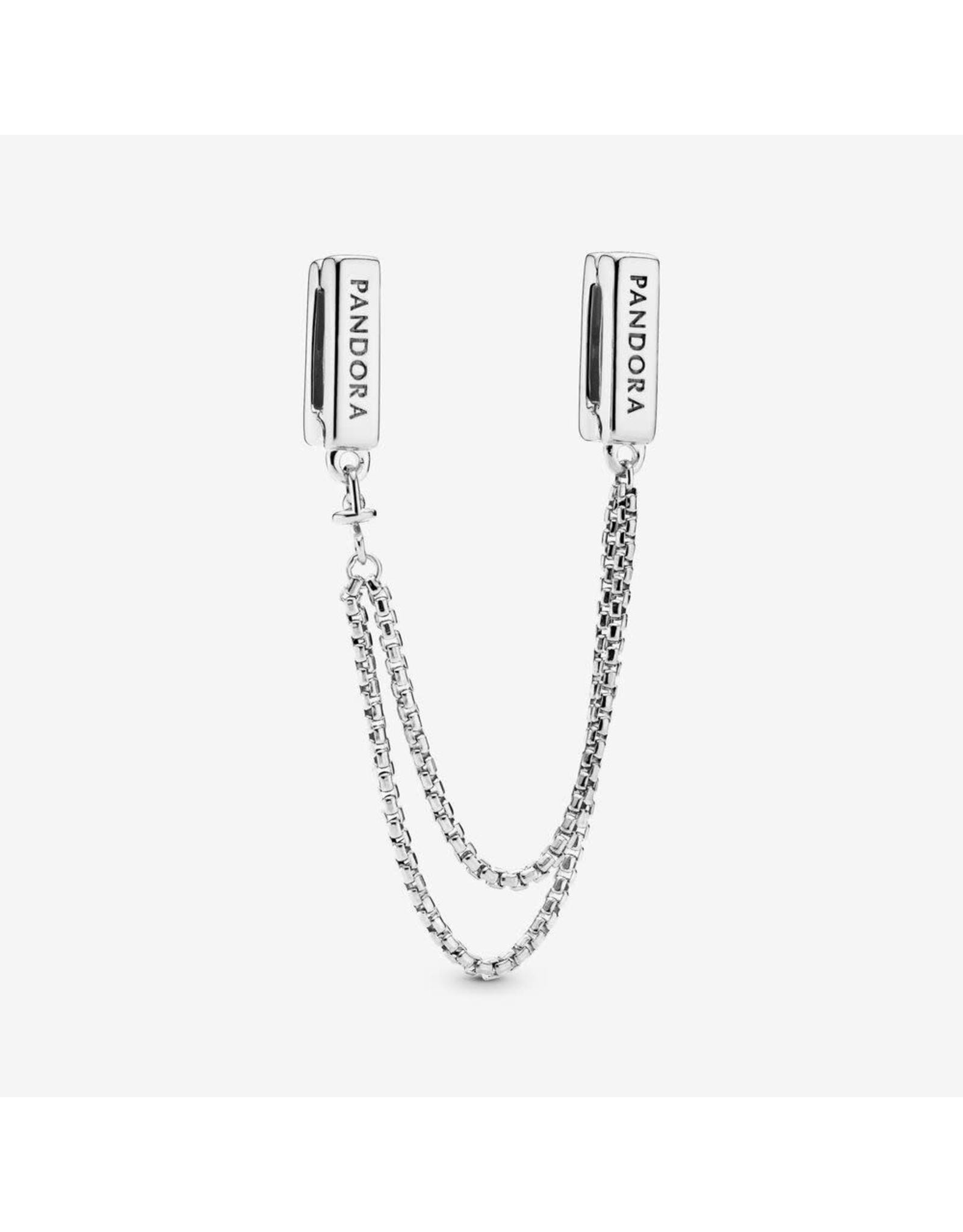 Pandora Pandora Reflexions Safety Chain In Sterling Silver 50 mm