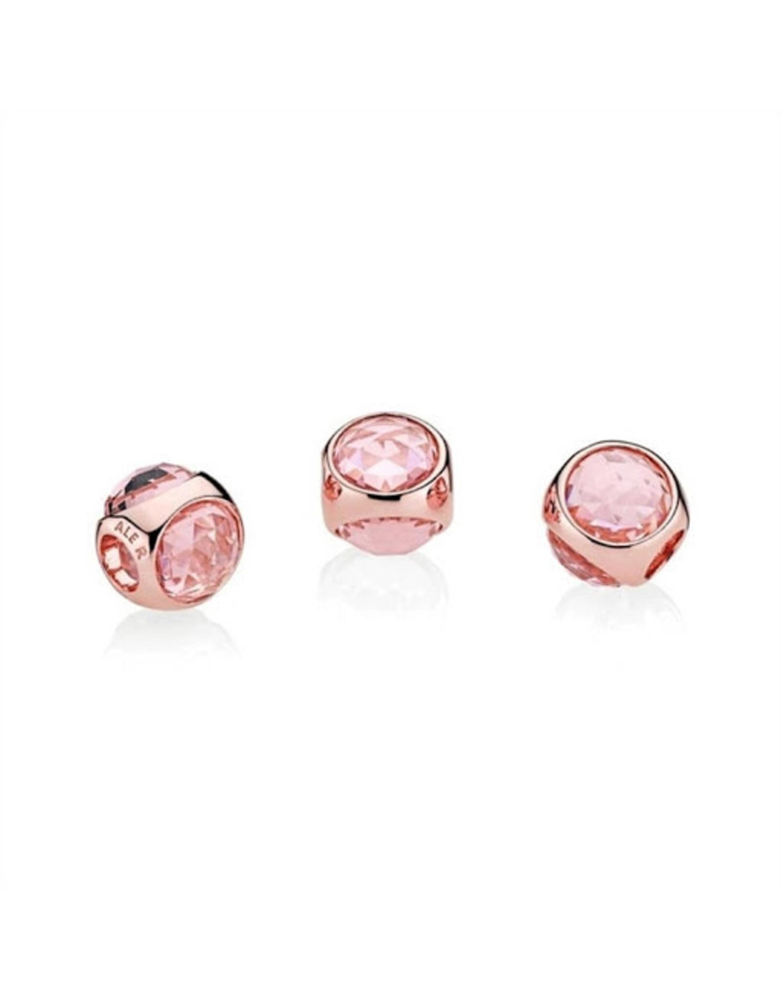 Pandora Pandora Charm Radiant Droplet,Pink Mist Crystals