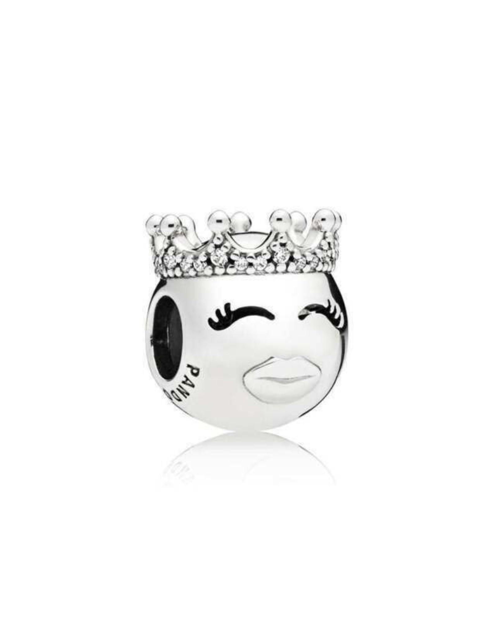 Pandora Pandora Princess Emoji, Clear CZ
