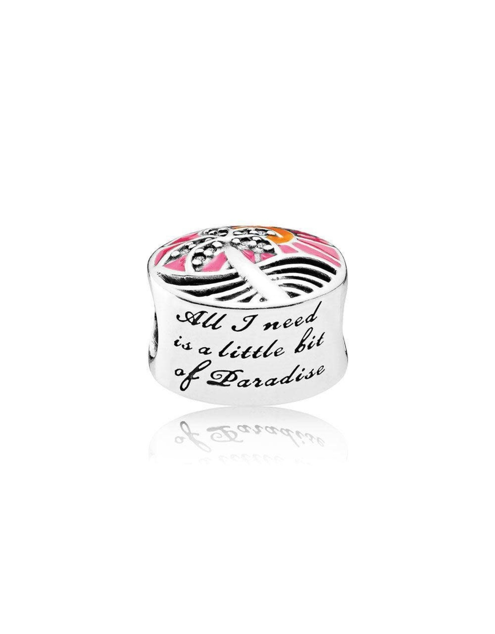 Pandora Pandora Tropical Sunset, Mixed Enamel & Clear CZ