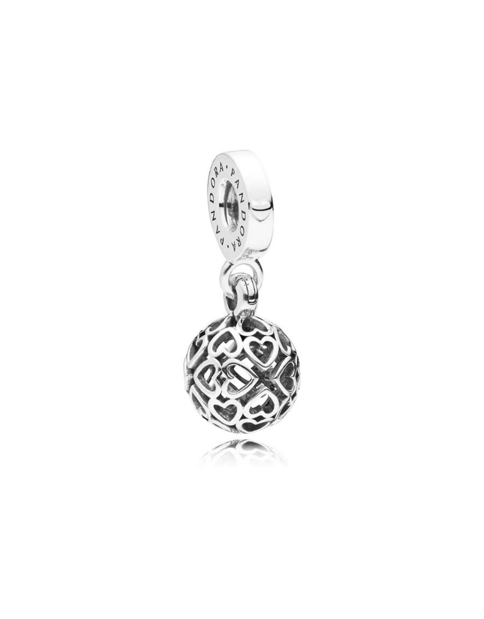 Pandora Pandora Harmonius Hearts Silver Dangle