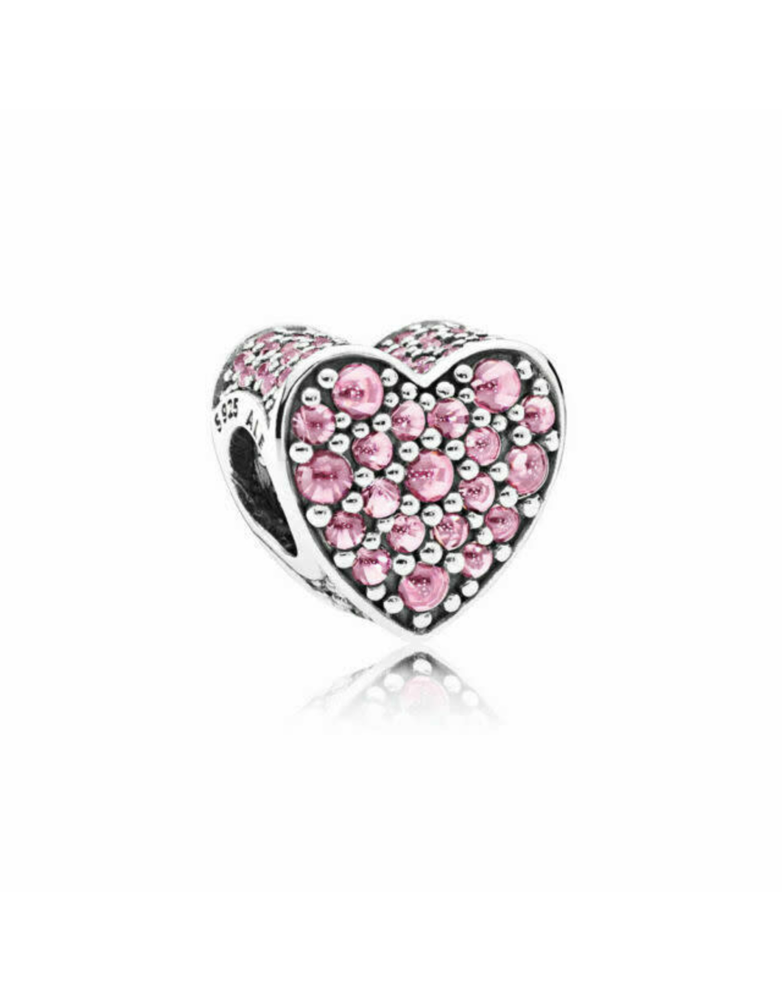 Pandora Pandora Dazzling Heart, Pink CZ