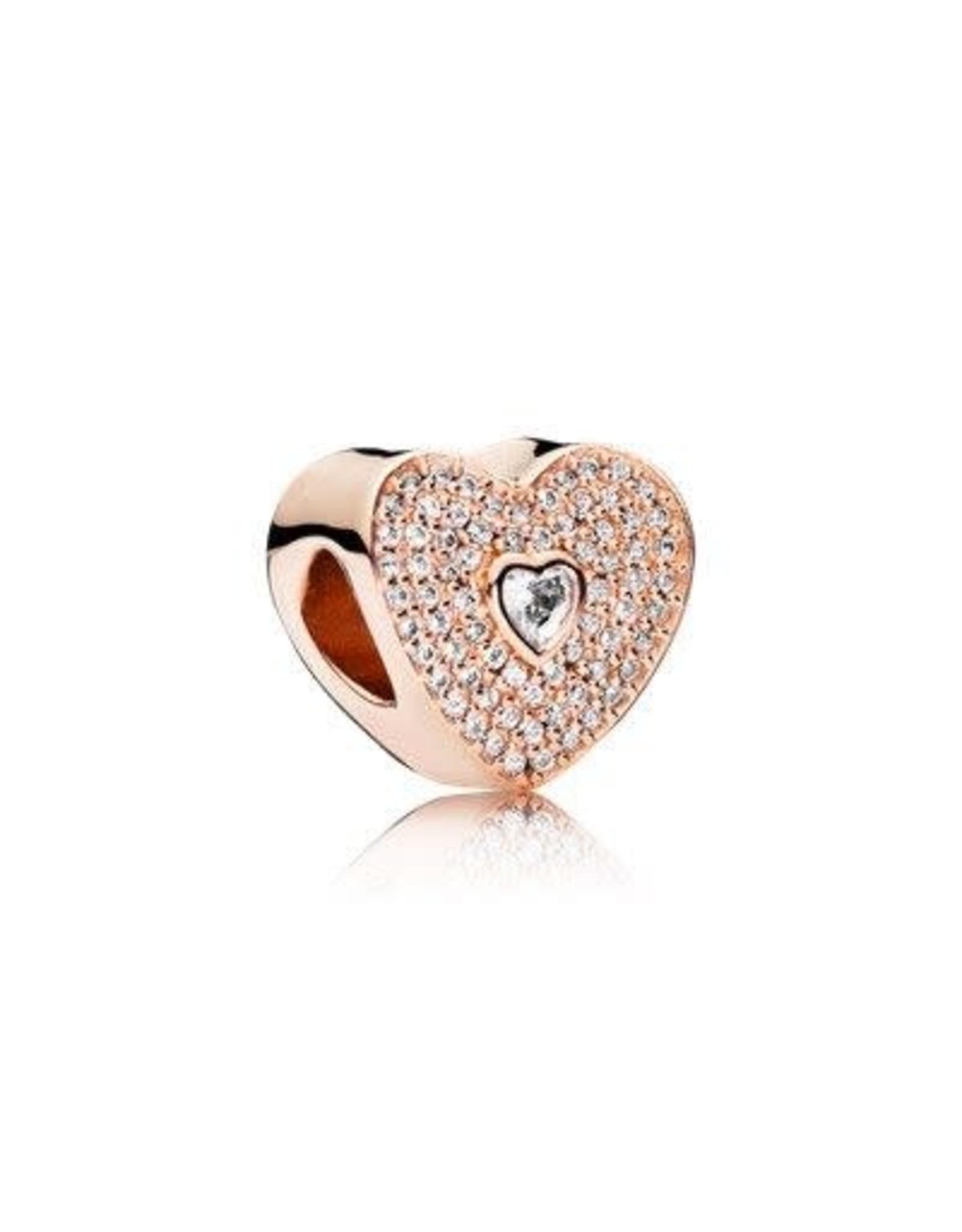 Pandora Pandora Shine Sweetheart, Clear CZ