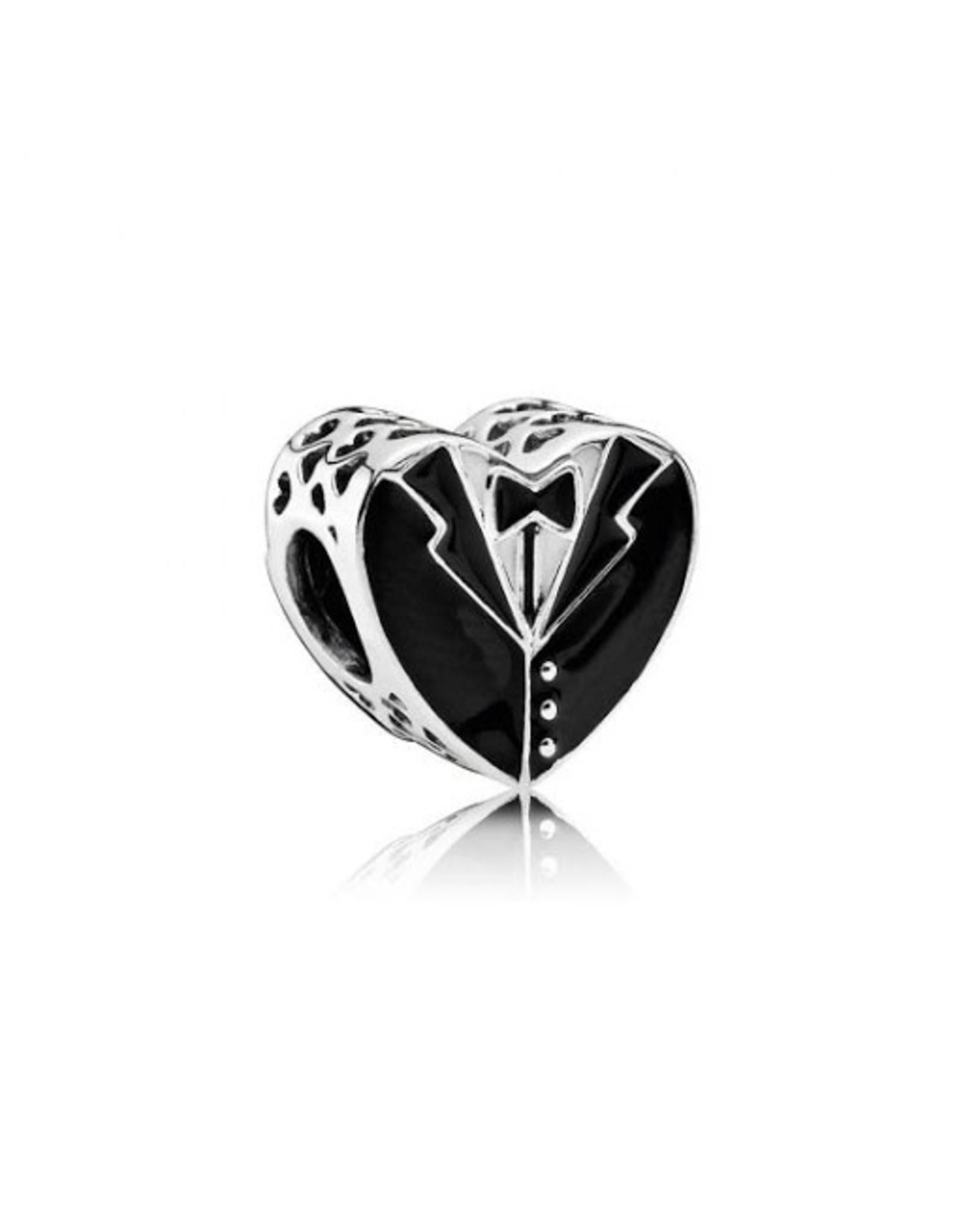 Pandora Pandora Our Special Day, Black & White Enamel