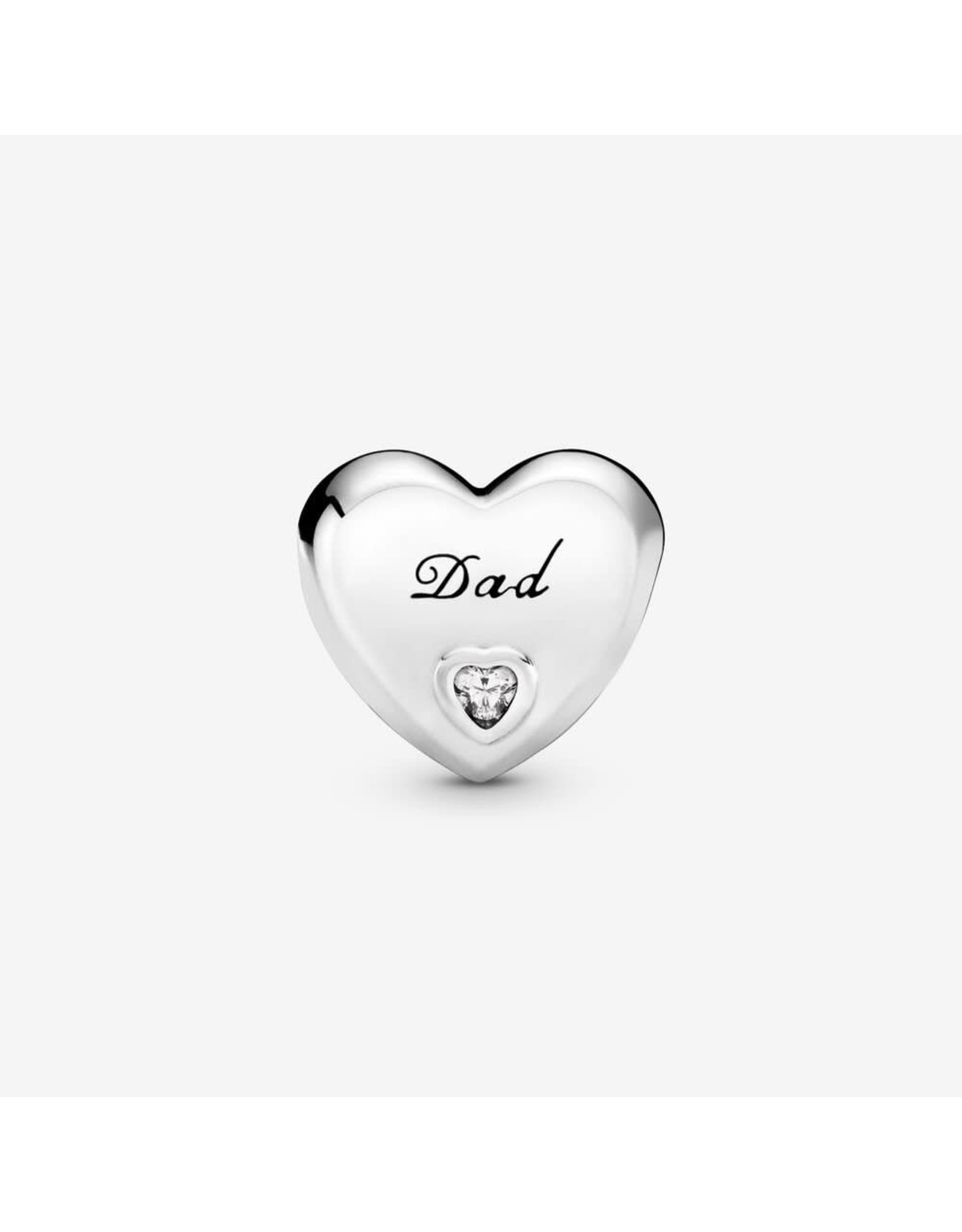Pandora Pandora Dad's Love,Clear CZ