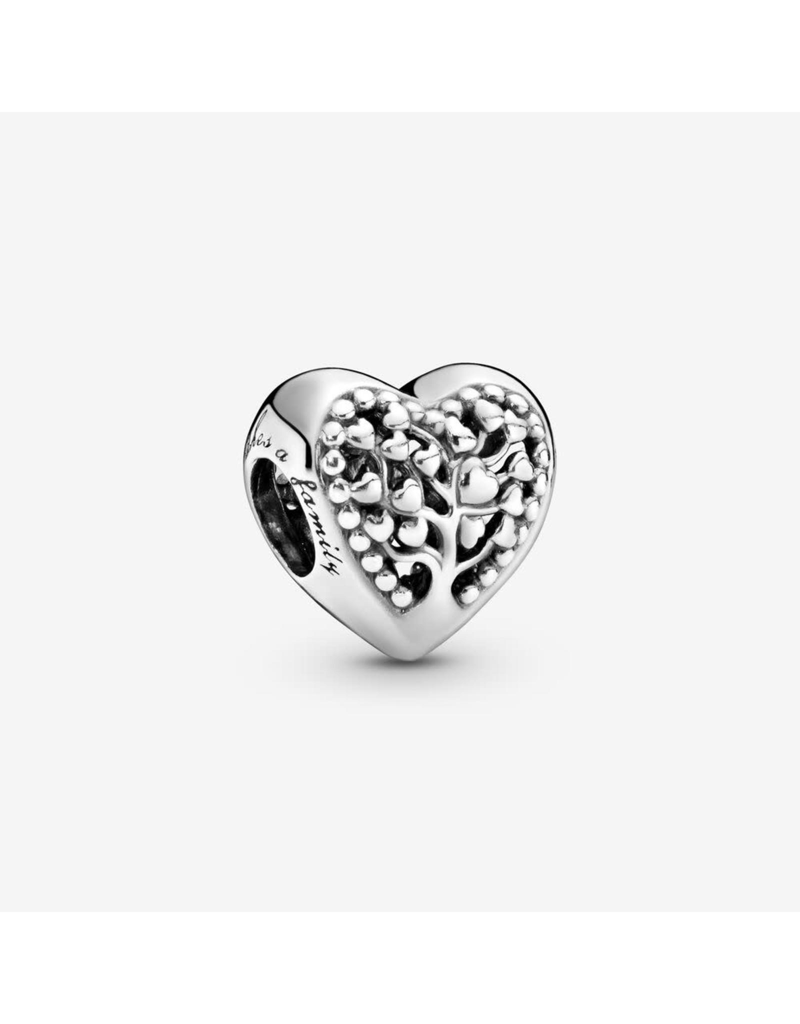 Pandora Pandora Charm,797058, Flourishing Hearts Tree Of Love Heart