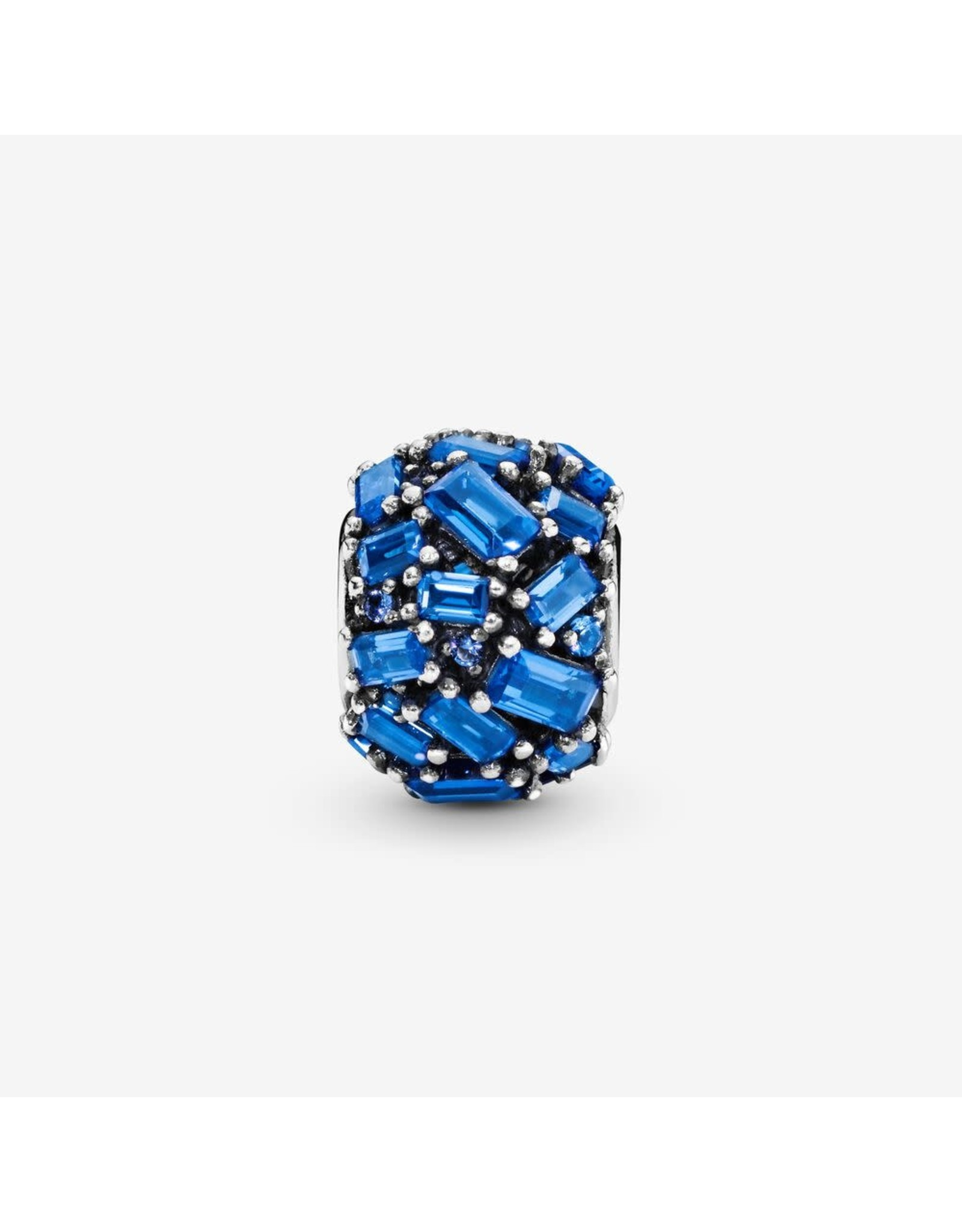 Pandora Pandora Charm Chiselled Elegance Blue Crystal