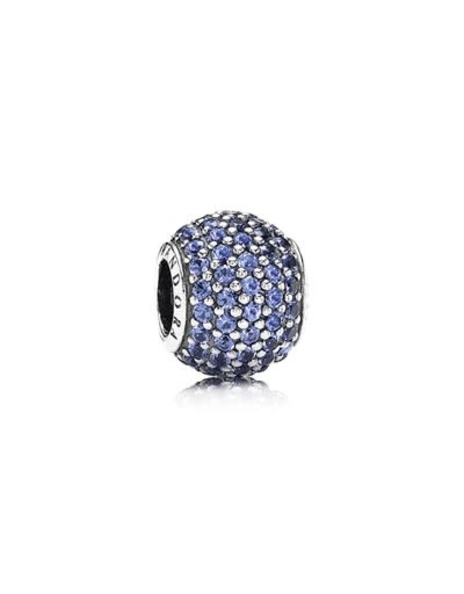 Pandora Pandora Charm Blue Pave Lights