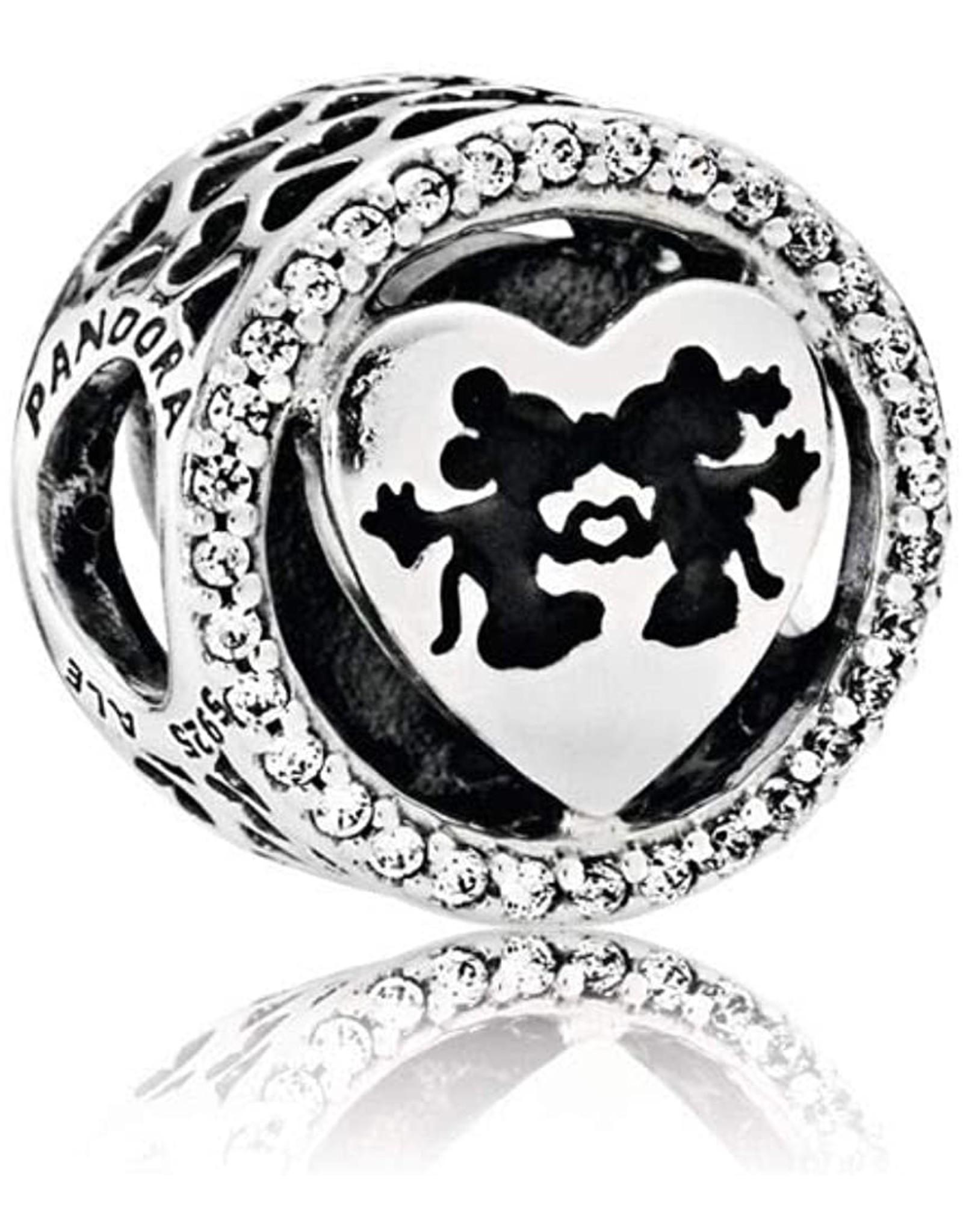 Pandora Pandora Charm Disney, Mickey & Minnie Love