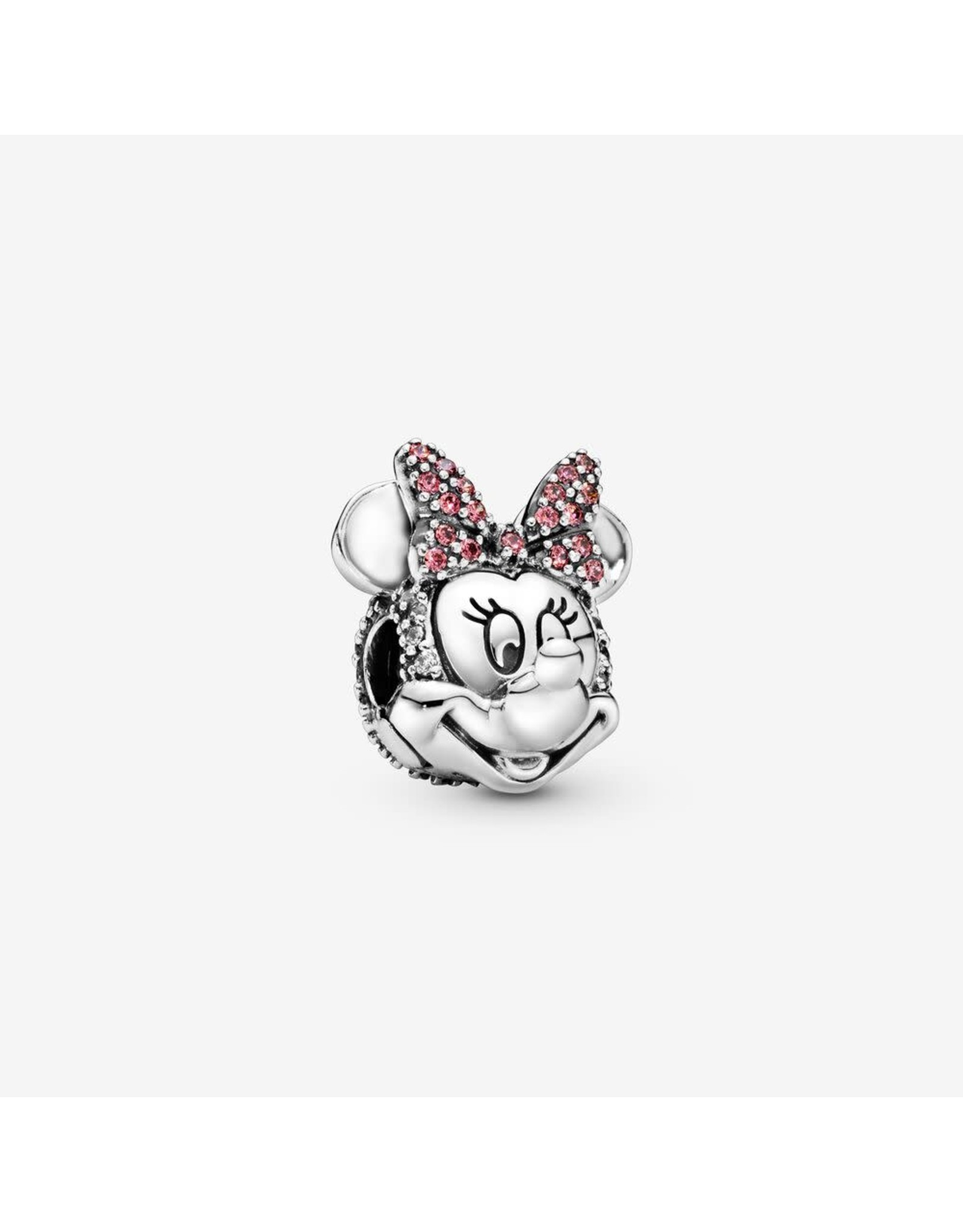 Pandora Pandora Clip, Disney Minnie Mouse, Pink & Clear CZ