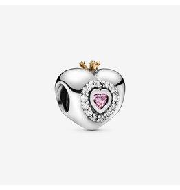 Pandora Pandora Princess Heart, Pink CZ