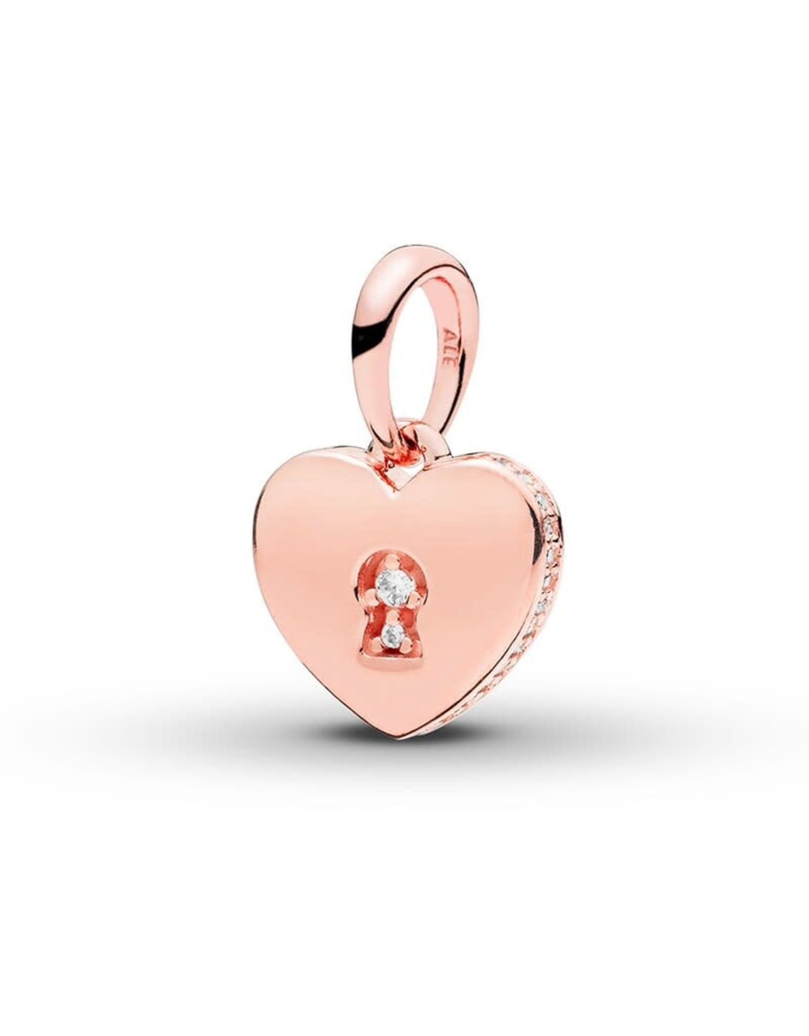 Pandora Pandora Shimmering Rose Gold Keyhole Heart